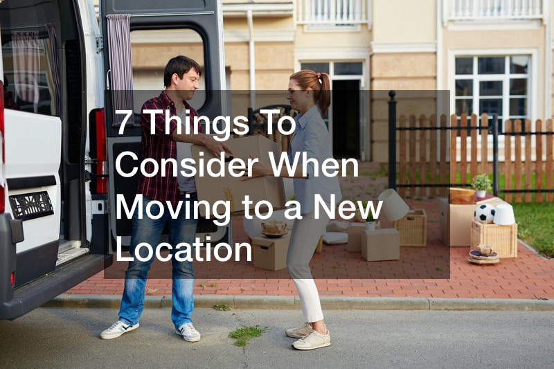 what to do when moving to a new place